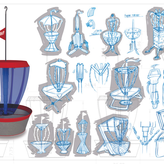 Frisbee Golf Concepts