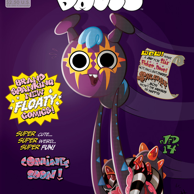 Floaty Daves Comics #1 Cover