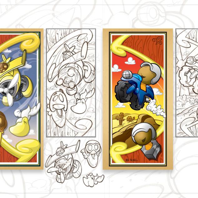 Sprig Toy Fair 2010 Banner Artwork