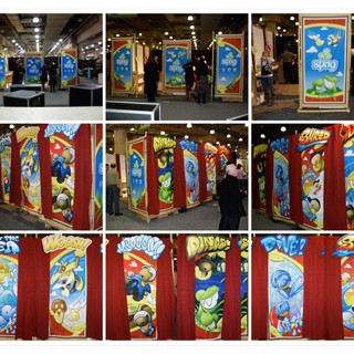 Sprig Toy Fair 2010 Banner Artwork