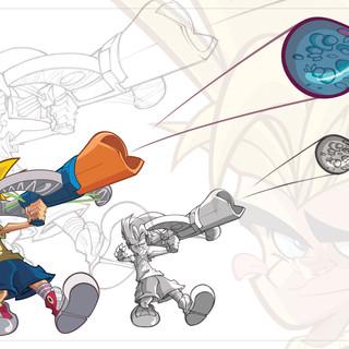 Crossbow Launcher Aqua Force