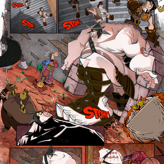 Accursed Ch.6 'The Invasion' pg.19