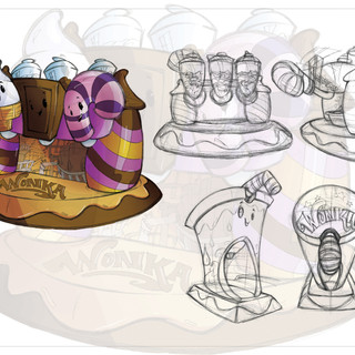 Willy Wonka Milkshake Maker Concept