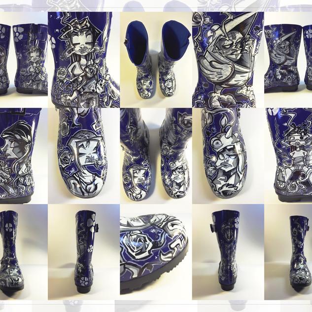 Floaty Galoshes / Blue Edition