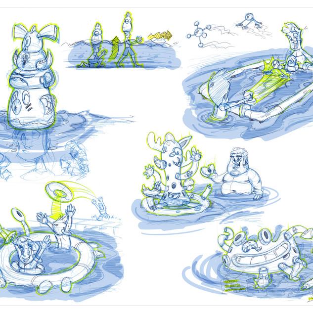 Wham-O Splash Concepts