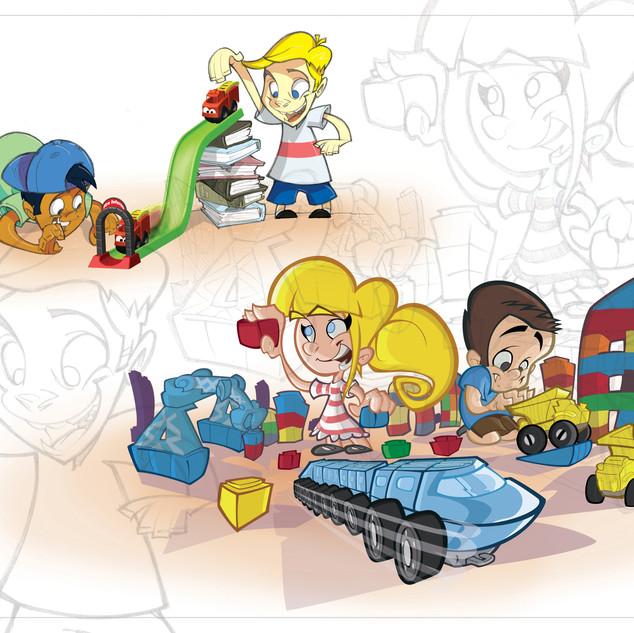 Engine Block Graphics