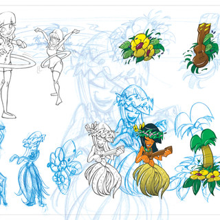 Hula Hoop Graphic Concepts