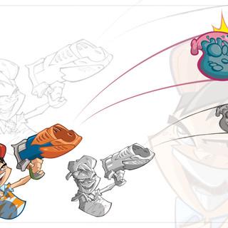 Blaster Launcher Aqua Force