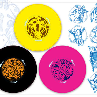 Frisbee Graphic Concepts
