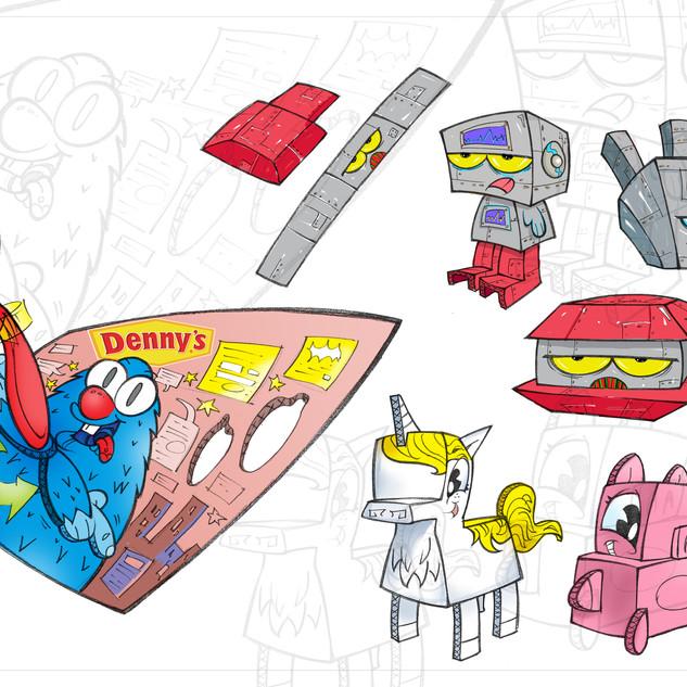 Denny's Place Mats Concepts