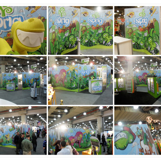 Sprig Toy Fair 2011 Booth