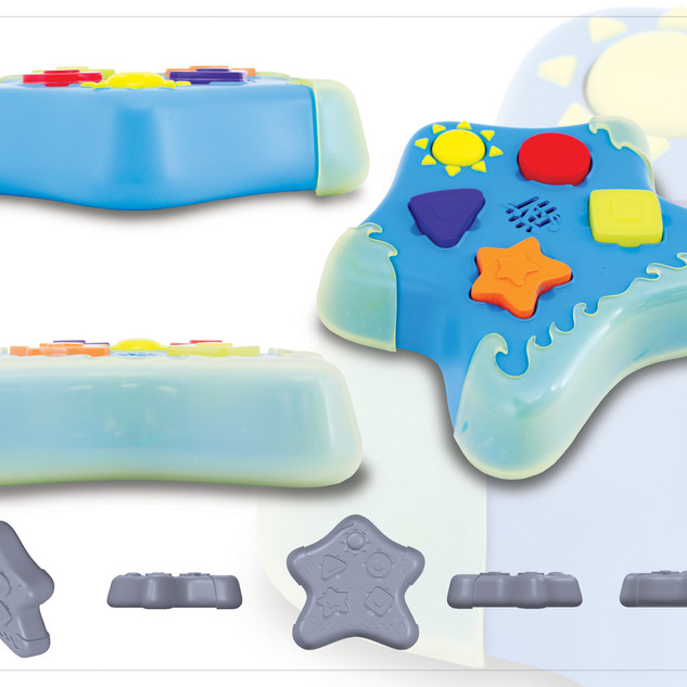 Starfish Puzzle Tubby Time