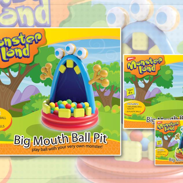 Big Mouth Ball Pit Box Concept