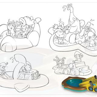 Fountain Slip 'N Slide Jr. Concepts