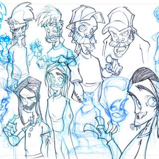 Drawings of Guys