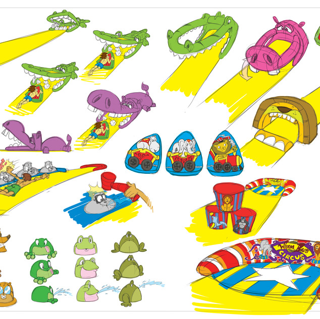 Circus Slip 'N Slide Jr. Concept