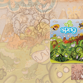 Sprig Toy Fair 2011 Banner Artwork
