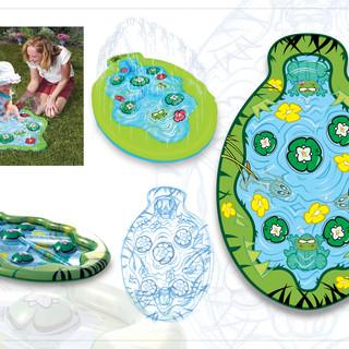 Lily Pad Giggle 'n Splash Graphics