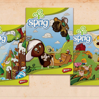 Sprig Toy Fair 2011 Poster Art