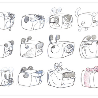 Silly Animal Hacky Sack Concepts