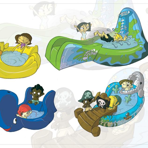 Slip 'N Slide Jr. Concepts