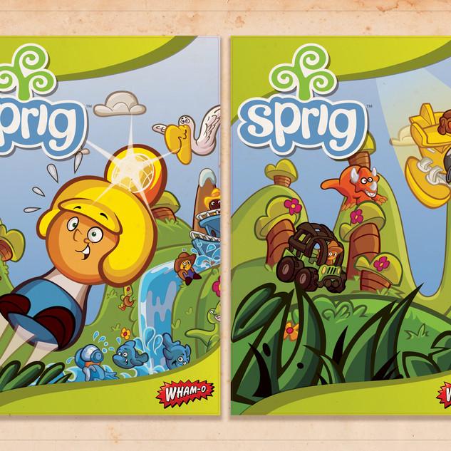 Sprig Toy Fair 2011 Poster Art