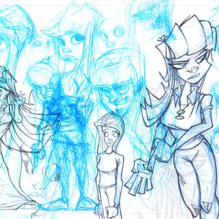 Drawings of Girls