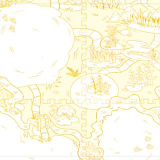 Monster Land Play Mat Concept