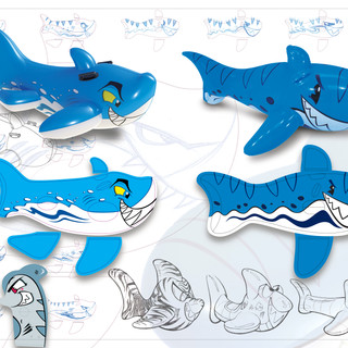 Shark Wham-O Splash Concepts