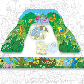 Jungle Slip 'N Slide Jr. Concept