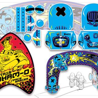 Captain Wham-O Slip 'N Slide Concept