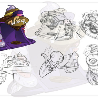 Willy Wonka Mochachino Maker Concept
