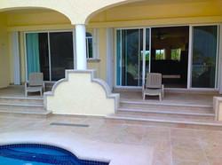 1st floor condo pool entrance