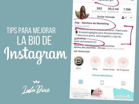 Tips para sacar provecho a la bio de Instagram