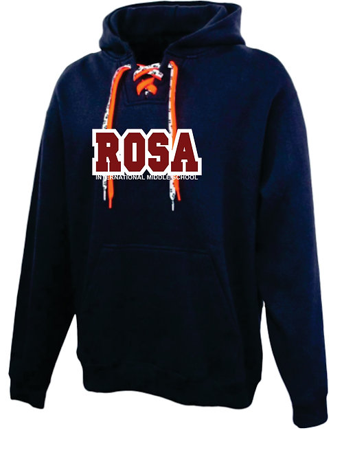 RS Lace up Hoodie
