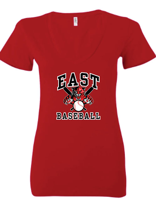 EB Ladies V neck