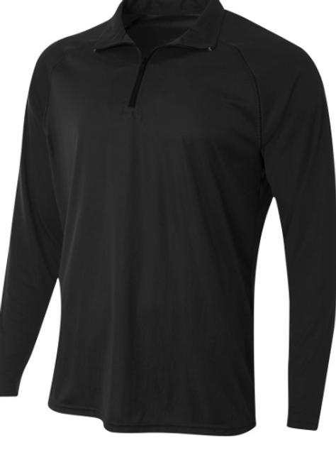 EC 1/4 zip performance pullover