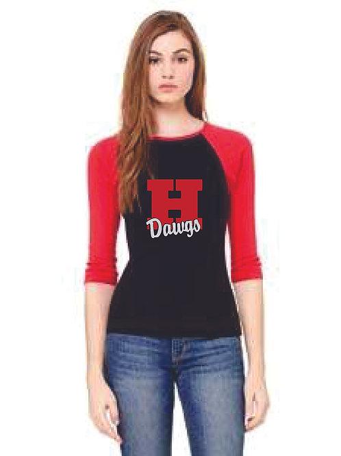 HHC 3/4 sleeve T'shirt