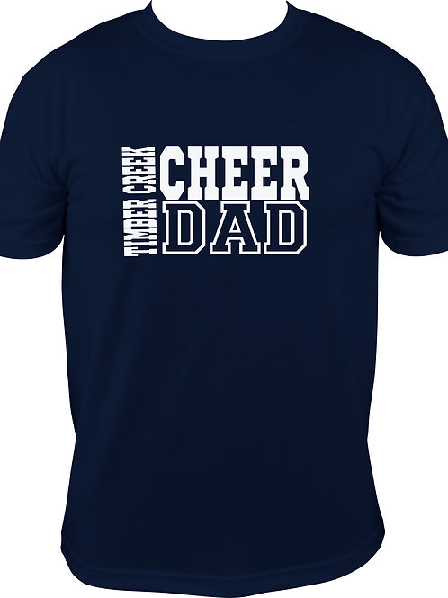 TC Performance T'shirt Cheer Dad
