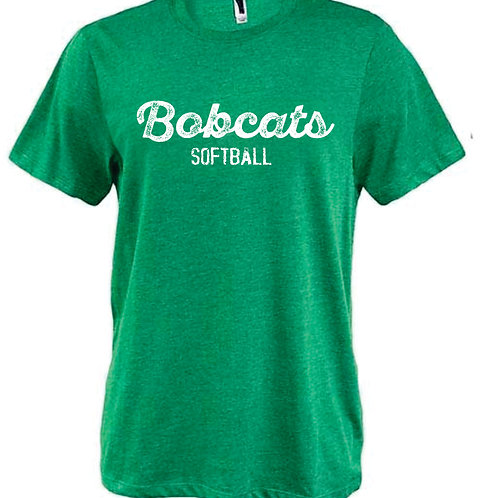 BS Heather Green Tee