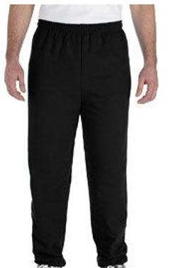 WB Gildan Open Bottom Sweatpants