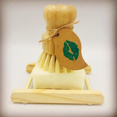 KIS Kitchen Dish Soap Block & Bamboo Deck