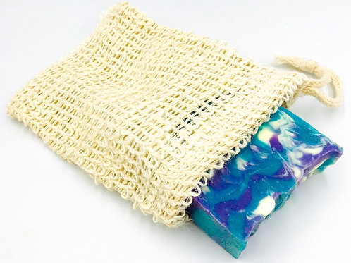 All Natural Agave Exfoliating Soap Pouch