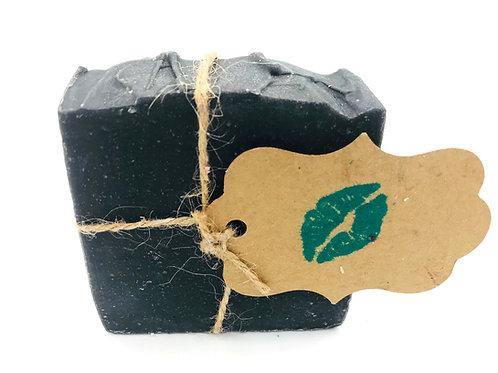 The Black Rock - Purifying Face & Body Bar