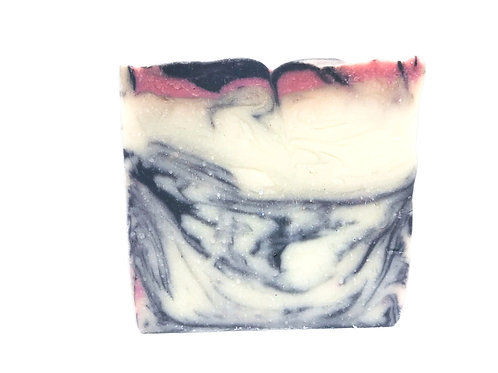 Cherry Pom Body Bar with Activated Charcoal