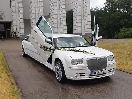 Limuzinų nuoma vestuvių šventei