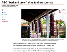 Painted Lady Bed & Brew aims to open in Albuquerque.