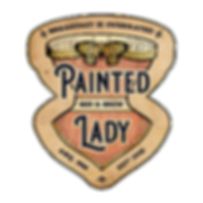 Painte Lady Bed & Brew Logo