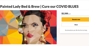 Support our gofundme page to cure our covid blues!
