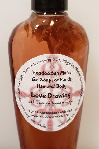 Love Drawing Liquid Soap